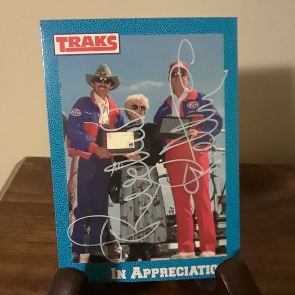 Traks Other - Richard Petty Autographed Signed 1991 NASCAR Card